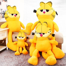 J.G Chen Hot Selling! 1pcs 30-80cm 3 Sizes Plush Garfield Cat Plush Stuffed Toys High Quality Soft Plush Toys Free Shipping(China)