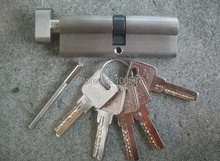 Pure copper thickening single open door lock core is 90 mm cylinder for 6 to 7 cm thick door(China)