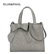 ELIM&PAUL Women Handbags PU Leather Box Messenger Bag Women's Top-Handle Bag Female Fashion Small Women Bag Ladies Bolsa Sac(China)