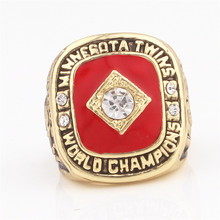 High Quality New Products / 1991 Minnesota Twins World Championship Ring Replica / Sports Circle Men's Jewelry Rings(China)