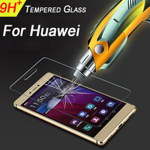 Premium Tempered Glass for Huawei Honor 8 5x Y560 G8 P9Lite 5c Nexus 6P Pro Y3 II Y5 II  p6  p7 p8 p8lite