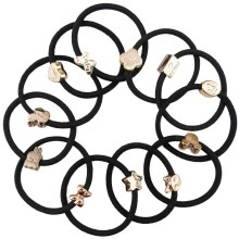 20Pcs/Lot fashion hair ring Adults Children universal rubber band mixing Hair Accessories for hair Rubber Band Hair Accessories