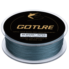 Goture New Superpower Japan Fishing line Grey/Yellow/Blue/Green 0.07-0.5mm 8-80LB Multifilament Line Fishing Accessories(China)