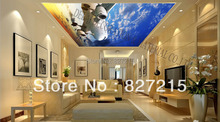 S-1074/ Blue Sky /Print Ceiling tiles /PVC Stretched Ceiling Film/Home or Ceiling Decoration/Function as Ceiling Panel