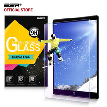 "Screen Protector for iPad Pro 12.9 2017/Pro 12.9 2015, ESR Anti Blue-ray 9H Tempered Glass screen Film for iPad Pro 12.9"" inches"