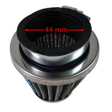 GY6 125cc 150cc Scooter Moped universal Air Filter Cleaner 44mm For Mini Moto Dirt Pit Bike ATV Quad Scooter Buggy Pocket Blue