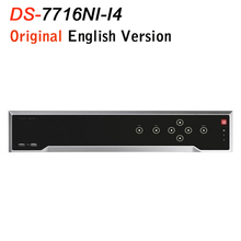 Buy HIK Updateable English Version 4K NVR DS-7716NI-I4 Network Video Recorder 16CH HDMI 4SATA H.265 for $545.00 in AliExpress store