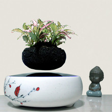 2016 high-tech products magnetic levitation air bonsai (no plant)ceramic pot 004 free shipping