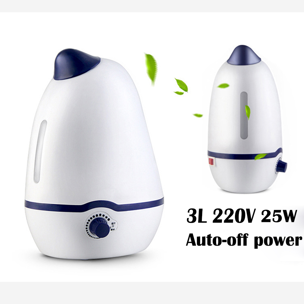 Big Capacity 3L Air Humidifier Essential Oil Diffuser Ultrasonic Humidifier Mist Maker Fogger Mist Maker Aroma Lamp Nebulizer <br>