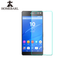 HOMEBARL 9H Front Premium Tempered Glass Films For Sony Xperia X Performance XA XP Z L36H M35H S36H M C4 E4 Screen Protector