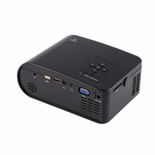 1920 x 1080 LED Video Projector Free HDMI LCD Mini Projector Multimedia Home Theater Projectors for EU Plug