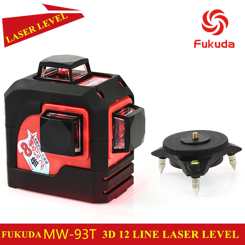 2017 new 3D 12 Red lines Fukuda MW-93T 3D 12Lines ...