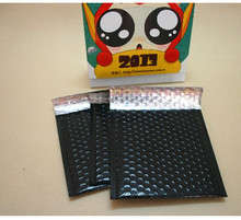 Alice,20pcs/lot 17.8*17.8cm Black Aluminum bubble bag, poly mailers envelopes,Shipping bubble envelopes,Air bubble bag