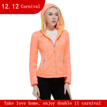 Women's winter jacket With a hood casual thin coat fashion design short outerwear autumn and winter parka SIC-V124(China)
