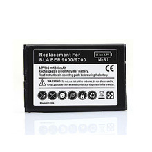 2 pcs Battery For Blackberry bold 9000 9700 9780  Phone Replacement 1800mah battery