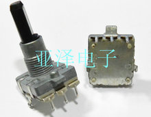 EC16 type encoder 24 positioning 24 pulse digital potentiometer shaft length 25MM free shippping(China)