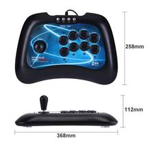 High Quality USB Fighting Stick Arcade Joystick Gamepad Controller for PS3 PC Android XBOX 360