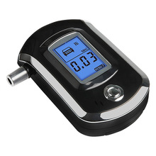 Professional Alcohol Tester Police Breath Alcohol Tester Breath Breathalyzer LCD Detector(China)