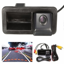 Trunk Handle Car Rear View Camera CCD Night Vision Car Camera For Ford/Focus 2 /Focus 3 2012-2015 Waterproof 120 Degree
