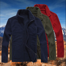 Man Fleece Loose Jackets Autumn Plus Size 7Xl Spring Manche Longue Coats Man Winter Casual Jackets And Coats W91175