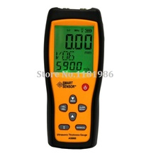 SMART SENSOR AS860 Aluminium Plate Steel Ultrasonic Thickness Gauge Digital Sheet Metal Measuring range: 1.0(China)