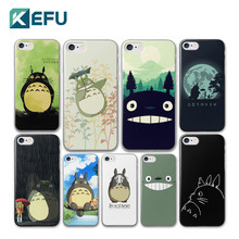 For coque iPhone 5S case 4 4S 5 5C 6 6S Plus Cute Totoro hard PC cover 2016 new arrivals for fundas iPhone 6S case