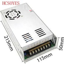 DC 24V 25A 600w with fan for 24v 3528 led strip  regulated or led moudle Voltage Converter CCTV Led Strip AC100-240V
