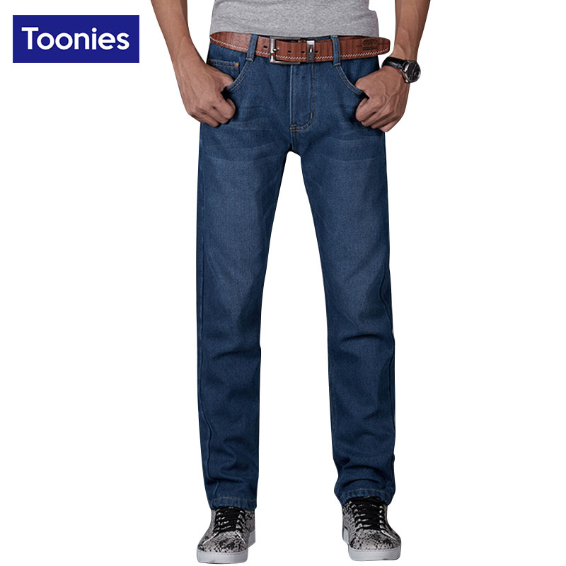 Winter Warm Jeans Men Brand Clothing Male Denim Trouser Outerwear Mens Pants Thicken Plus Velvet Jean Homme Plus Size PantalonОдежда и ак�е��уары<br><br><br>Aliexpress