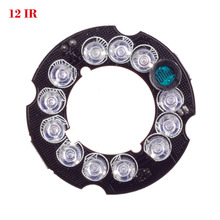 Wholesale Infrared 12 x 5 IR LED board for CCTV cameras mini camera night vision (diameter 37mm)