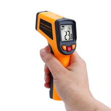 LCD Digital Laser Infrared Thermometer Temperature Measuring Instrument Pyrometer -50-600 Non-Contact 12:1 Temperature Gun