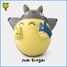 Mr.Froger Fly Totoro Chibi Miyazaki Hayao Toys Hobbies Action Toy Figures Cute Classic Toys For Children Animal Model Kids Gifts