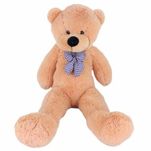 Dropshipping 100CM Giant Teddy Bear Plush Toys Stuffed Ted Cheap Pirce Gifts for Kids Girlfriends Christmas Baby Toys(China)