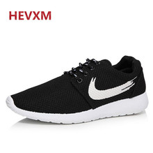 HEVXM 2017 new spring autumn New men's casual shoes Breathable mesh Fashion Walking Shoes Style Flat Ladies Trainers Flat Shoes