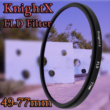 KnightX 52mm 55mm 58mm 67mm 72 77 FLD infrared Filter for Canon Nikon Sony Pentax Olympus D3300 5D 6D 7D DSLR SLR Camera lens