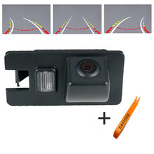 CCD car track camera reversing trajectory For Great Wall hover car rear view camera back up NTSC Waterproof free shipping