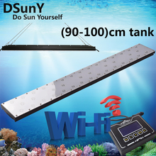 DSunY wifi remote led aquarium light for marine tank,freshwater tank,15''~160'',sunrise sunset,lunar cycle,four season(China)