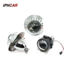 2.5inch  Bi xenon bi-xenon Projector lens with zkw shrouds hid xenon kit H1 H4 H7 car hid projector lens headlight Headlamp