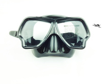High quality black silicone diving mask underwater for scuba diving snorkeling M-223(China)