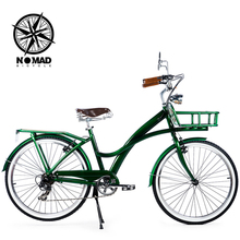 "24"" 7 Speed Retro Road Bicycle, Classic Vintage Bike, Retro bici , Ladies bicyclette(China)"
