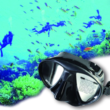 Diving Mask Underwater Super quality silicone spearfishing black wen/women snorkeling equipment scuba diving mask M855