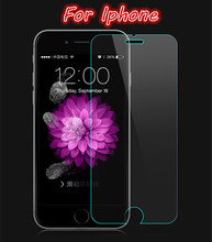 9H Tempered Glass for iphone 4 5 5S 5C SE 6 6S 7 plus Screen protect 9H hard mobile phone smartphone 2016 NEW HOT discount Cover