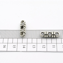 20pcs for 3 Strand 3mm round Multistrand connectors separator Leather Supplies Jewelry Findings & Components P-87(Portugal)