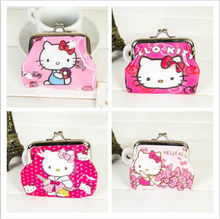 Hello Kitty Wallet Mini Coin Purse Cheap Mini Wallets NO Mini Order 1PC Lowest Price 2017 Hot Fashion