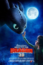 2147 How To Train Your Dragon 1 2 Hot Movie-Wall Sticker Art Poster For Home Decor Silk Canvas Painting(China)