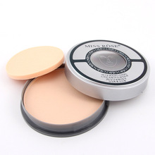 Mineral Powder Face Makeup Waterproof Brightening Dark Skin Contour Matte Shadow Concealer Natural Cosmetics with Puff #241799(China)
