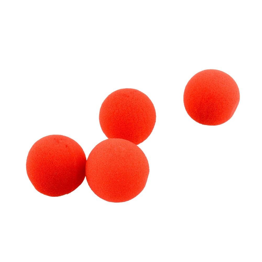 10PCS Close-Up Magic Street Trick Soft Sponge Ball Props Clown Nose