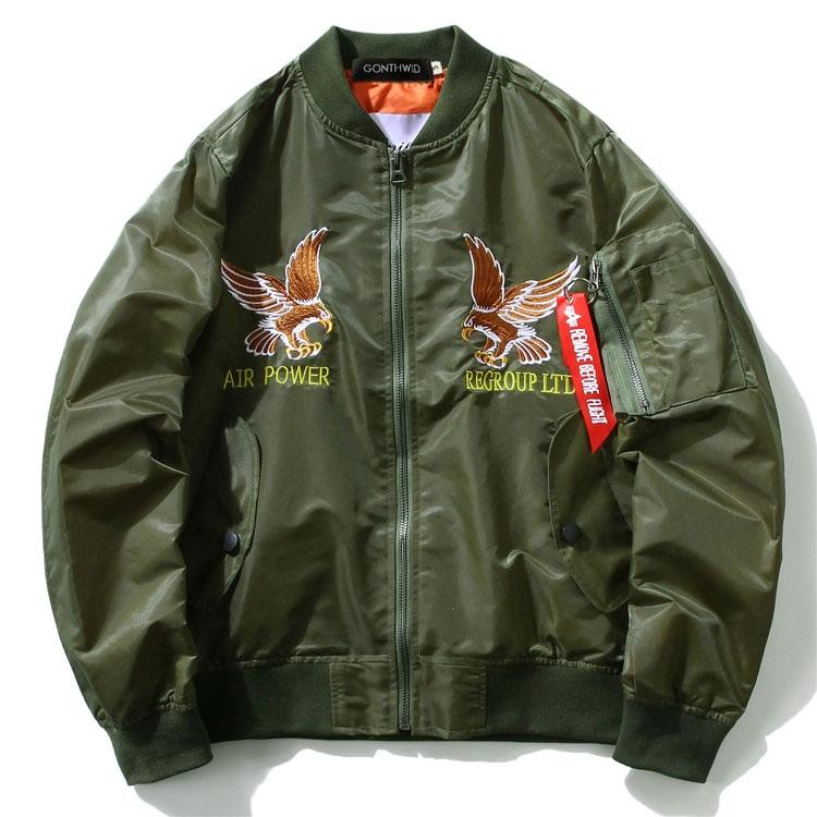 Eagle Dragon MA1 Bomber Jacket 6