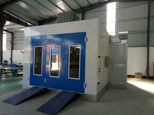 Electric Control Car Paint Booth Vehicles Spray Booth for sell