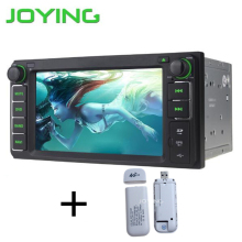 JOYING 2GB+32GB Android5.1 Car GPS Stereo Player Quad core Double 2din Radio For Universal Toyota Corolla Camry  With 4G Dongle