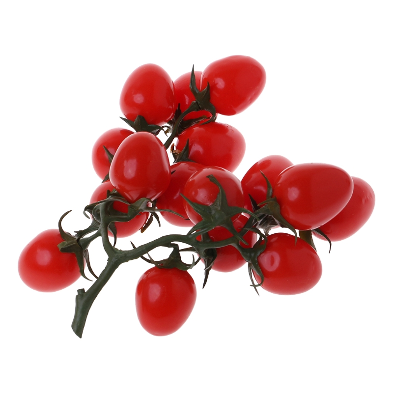 Gresorth 2 Pack Artificial Red /& Yellow Cherry Tomatoes Decoration Fake Tomato for Home Kitchen Party Christmas